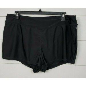 Time & Tru Plus Size 1X Swimsuit Bottoms Boyshorts